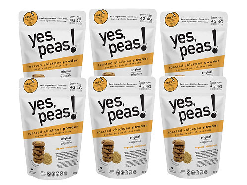 6-pack Roasted Chickpea Powder