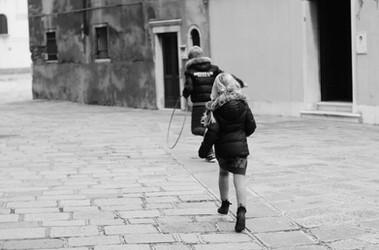 Running in Venezia.
