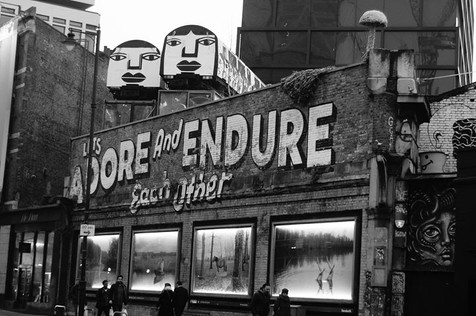Adore and Endure.