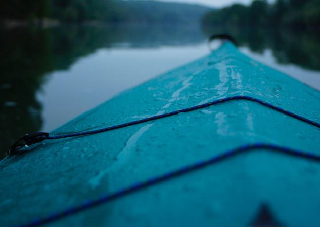 Petit matin fluvial.