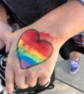 Rainbow Heart Image
