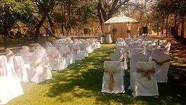 Garden wedding venue Rustenburg