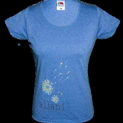Damen T-Shirt, Baumwolle/ Polyester