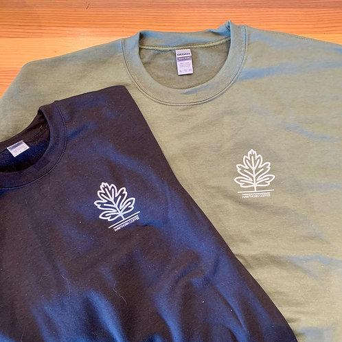 Hawthorn Coffee Crew Neck Sweatshirts