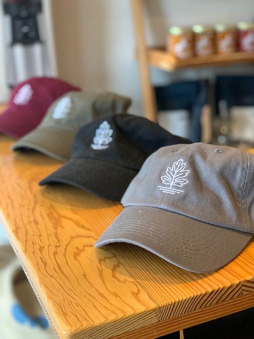 Hawthorn Coffee Hat with Leaf Logo