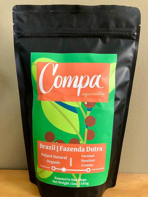 Brazil Fazenda Dutra -  Organic, Natural