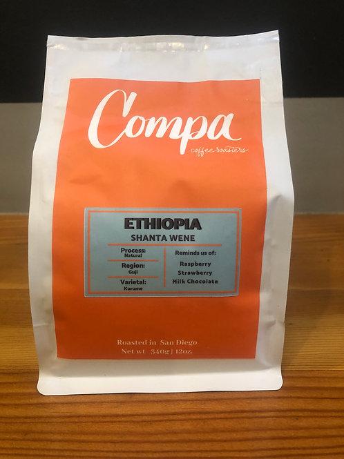 Ethiopia - Shanta Were:  Organic/Natural Processed