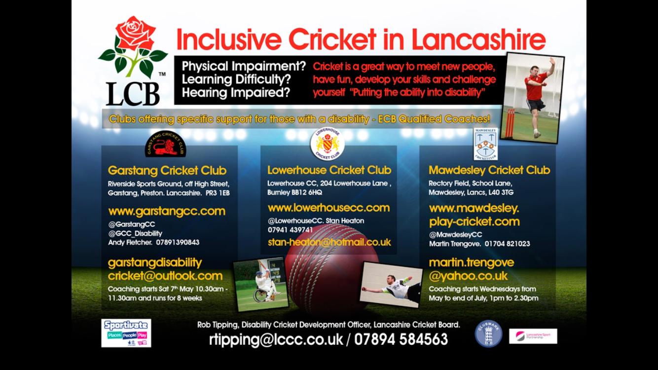 Inclusive Cricket in Lancashire