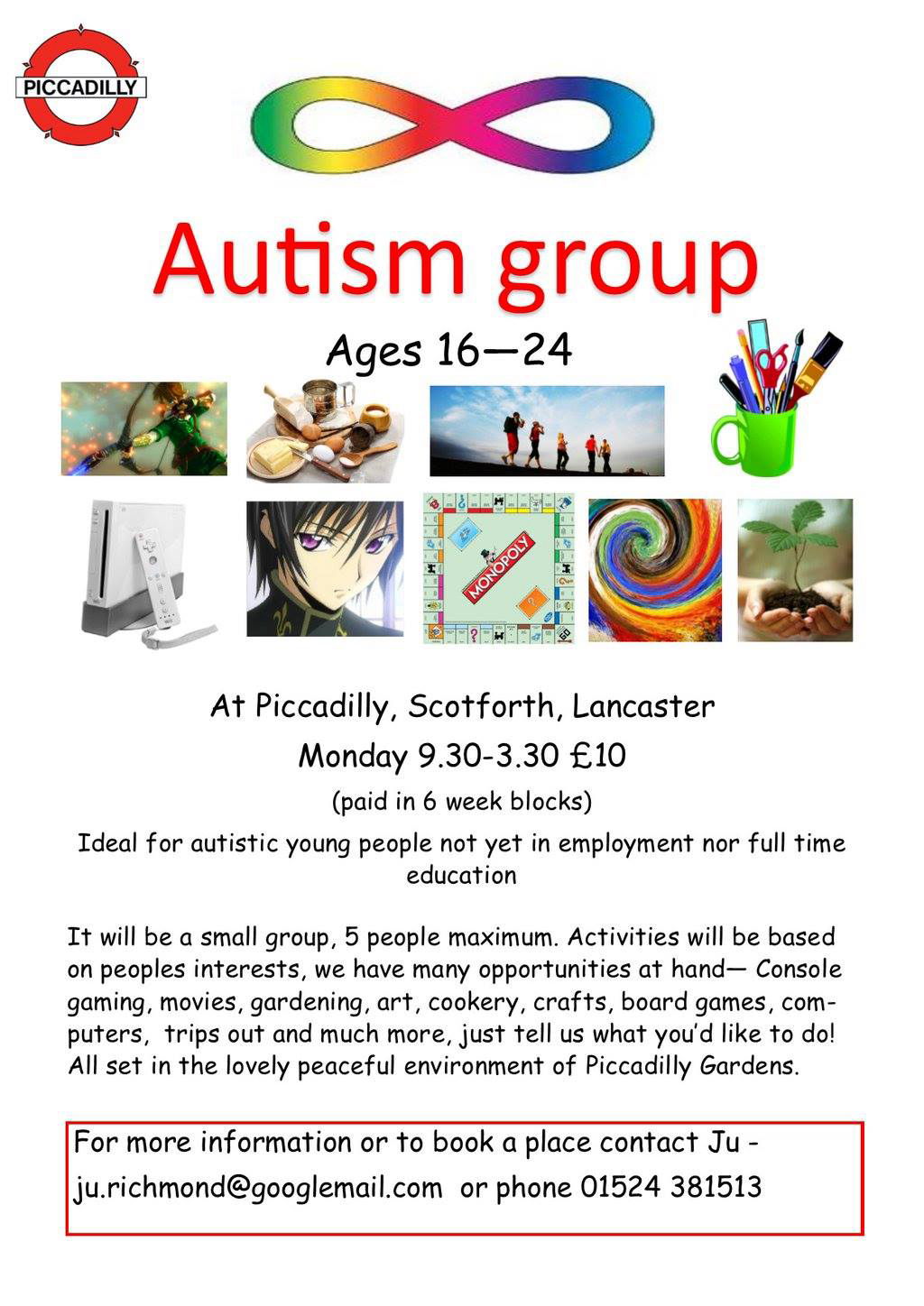 Picadilly Autism group