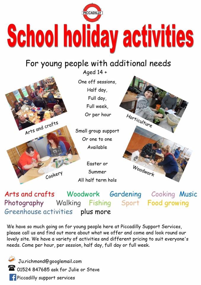 Picadilly School holiday activities