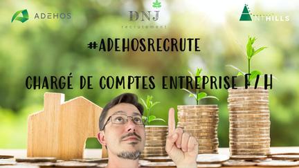 Chargé compte Entreprise/Grands Comptes F/H