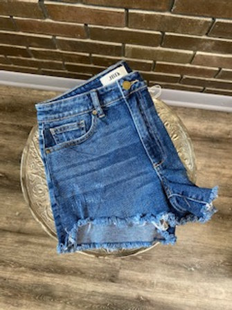 Just Black Denim Medium Wash Shorts