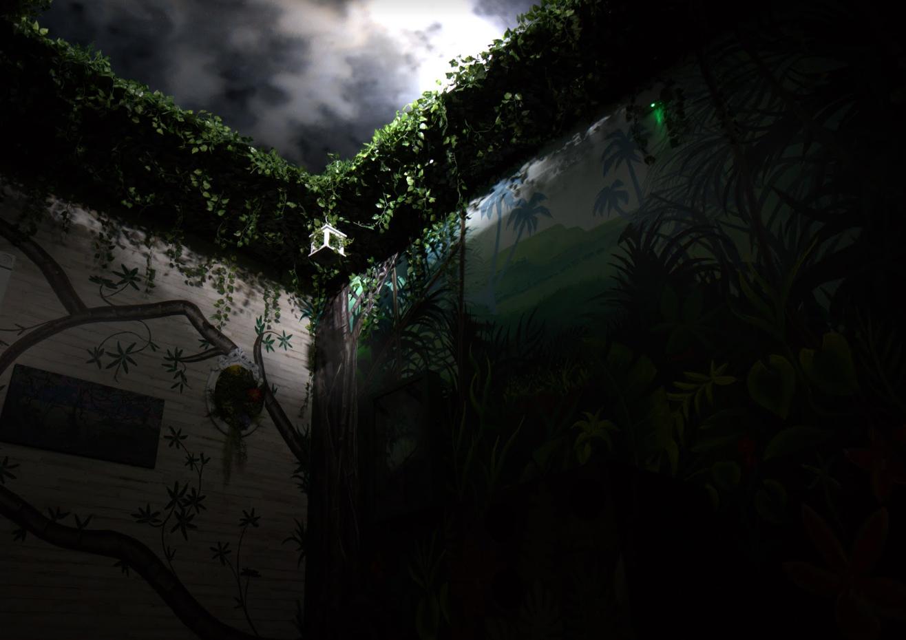 Into the jungle...