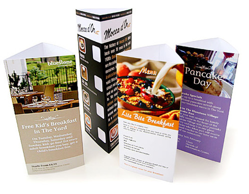 Table Talkers - Restaurant table talkers