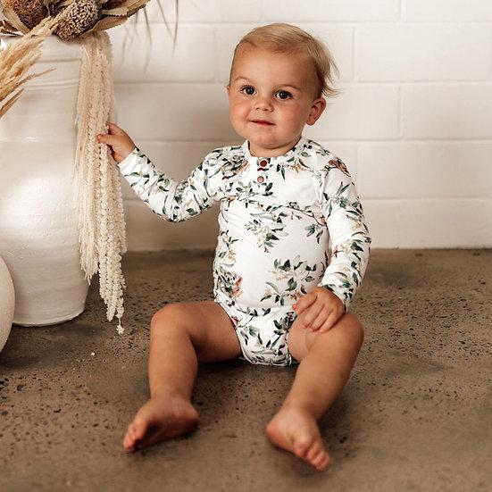 Snuggle Hunny - Eucalypt | Organic Bodysuit