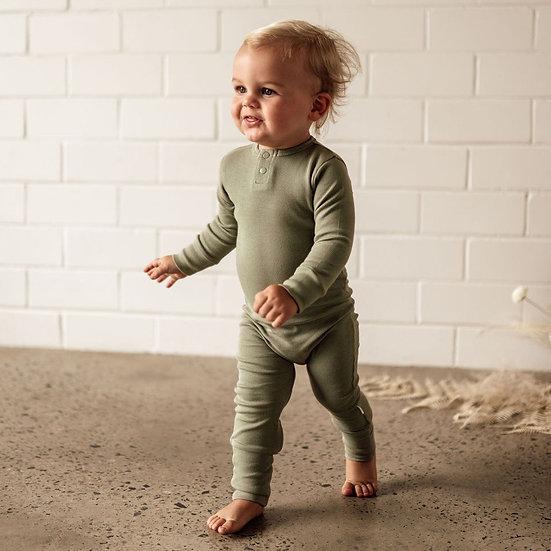 Snuggle Hunny - Dewkist   Organic Growsuit