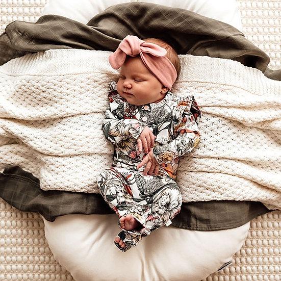 Snuggle Hunny - Australiana | Organic Growsuit
