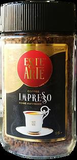 эсте арте кофе растворимый натуральный este arte impresso импрессо в стеклобанке в банке