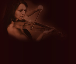 Violinist Abstract
