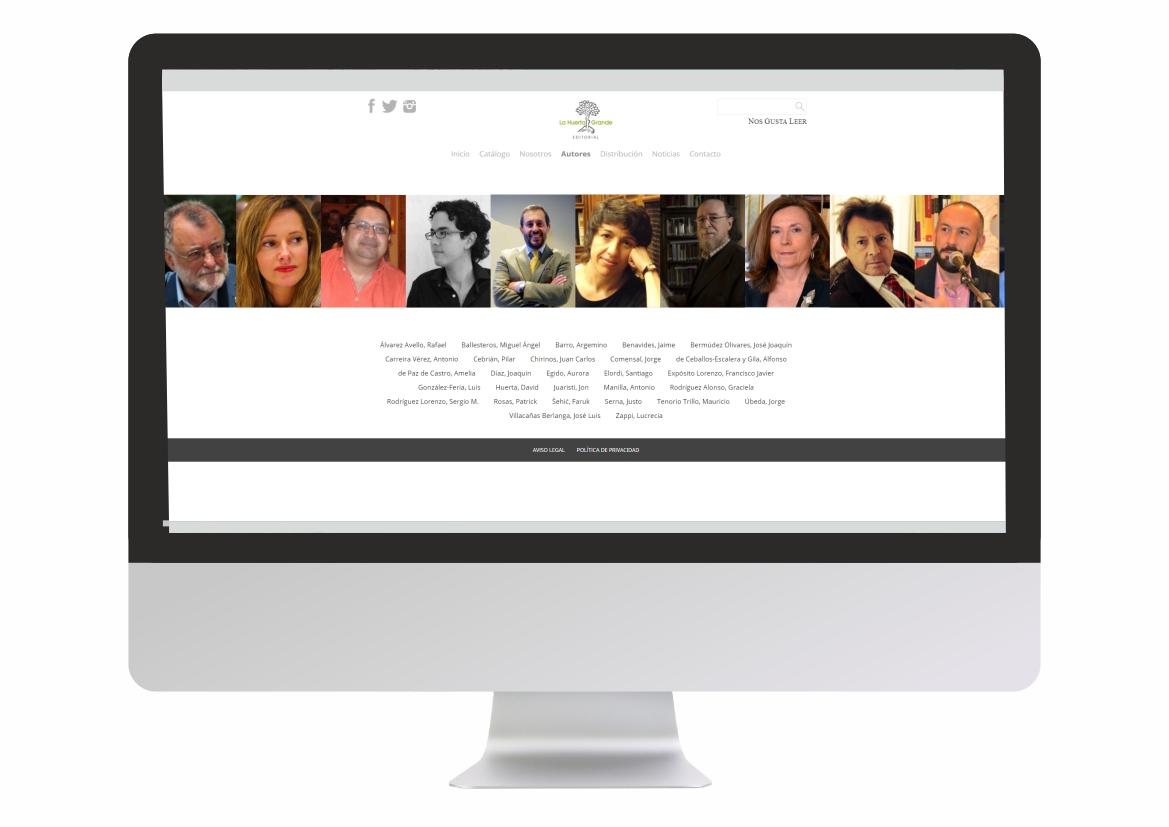 Web LHG Autores