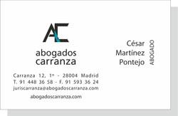 Tarjeta Carranza