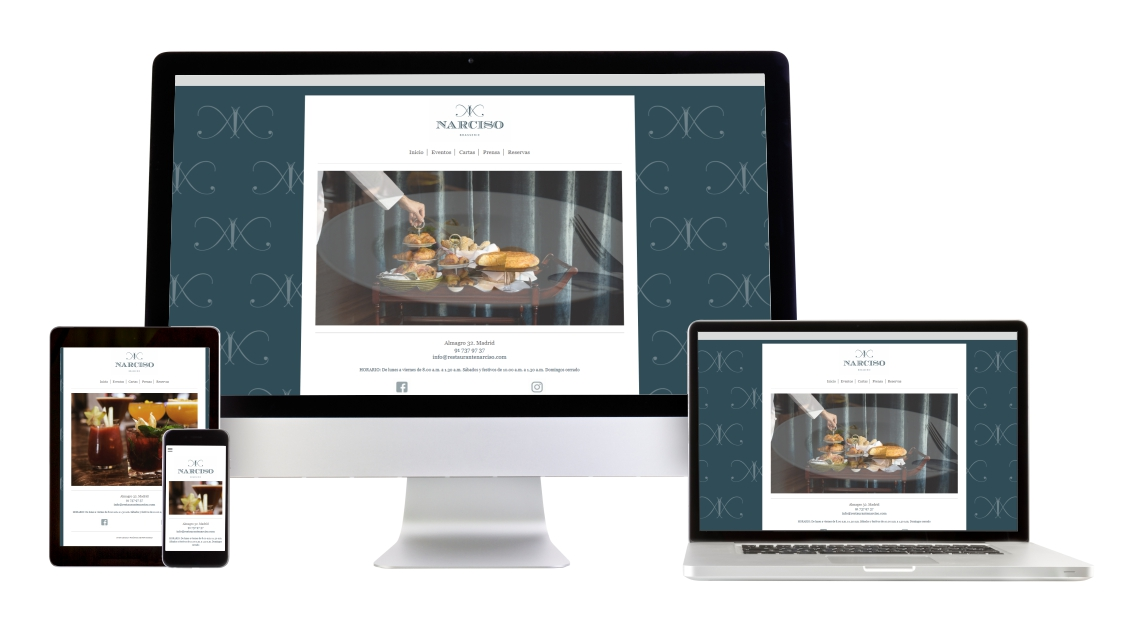 Web Narciso Brasserie
