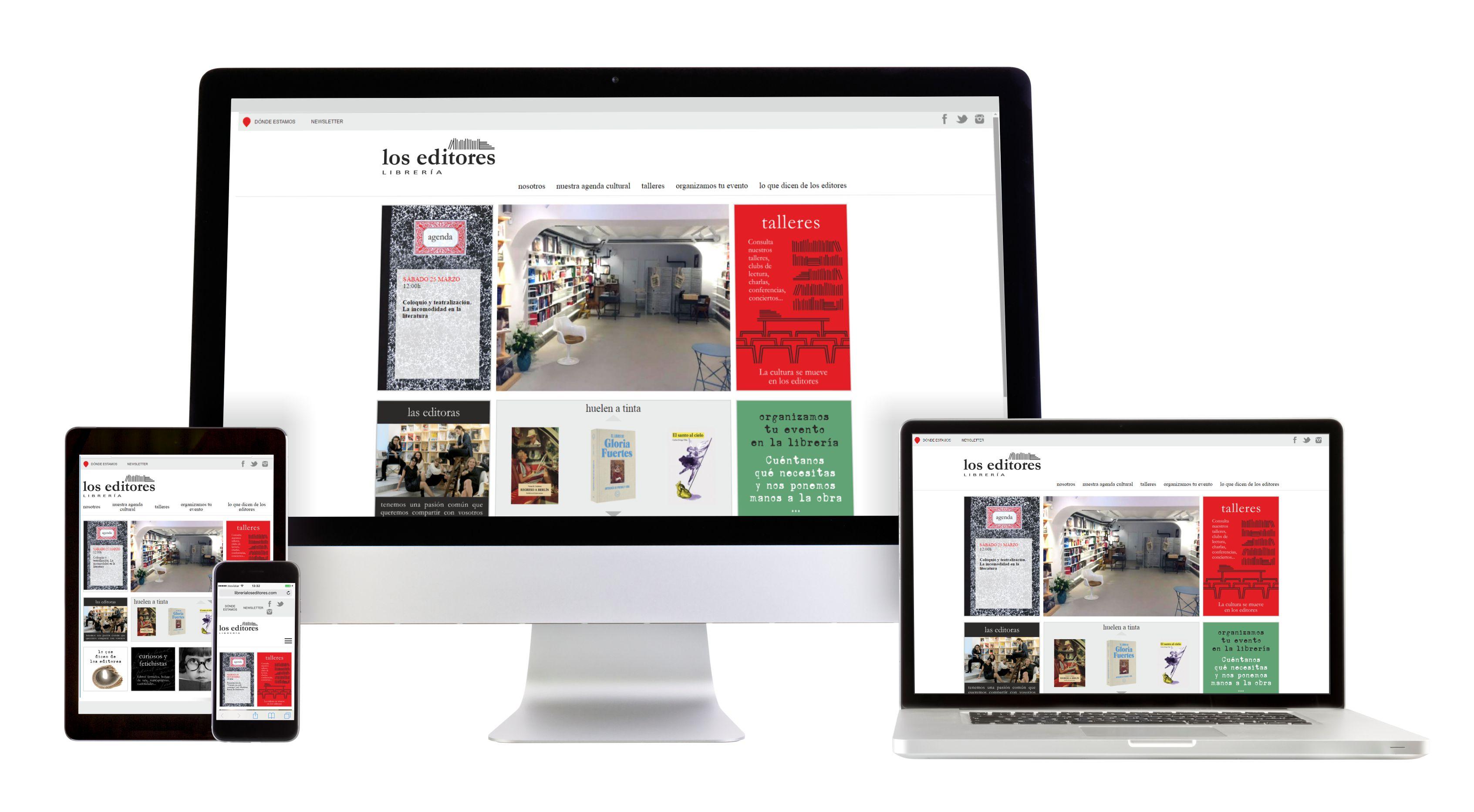 Web Libreria Los Editores