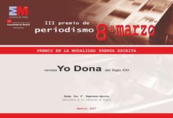 Diseño diploma 8 Marzo