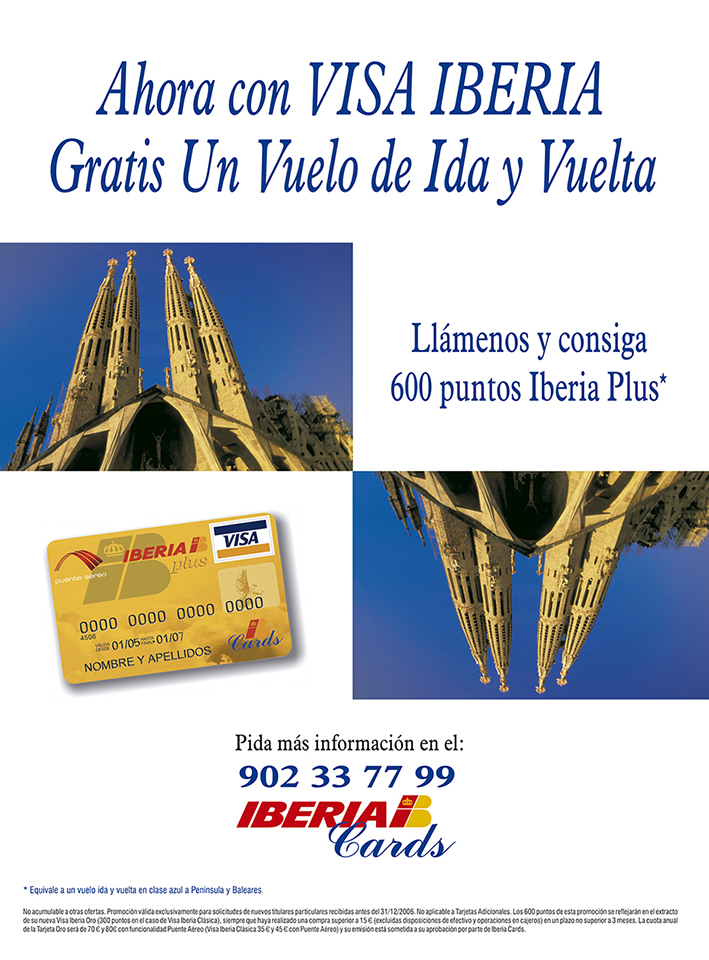 Anuncio Iberia Cards 206x275