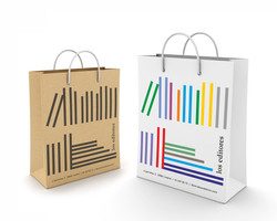 Diseño Bolsas papel Los Editores