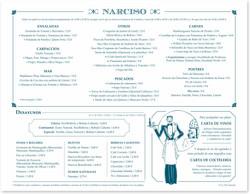 Carta exterior Narciso