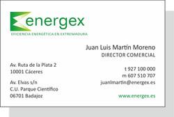 Tarjeta Energex
