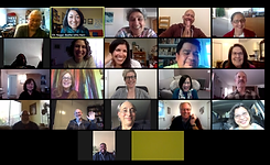 Participants of a virtual circle on Zoom