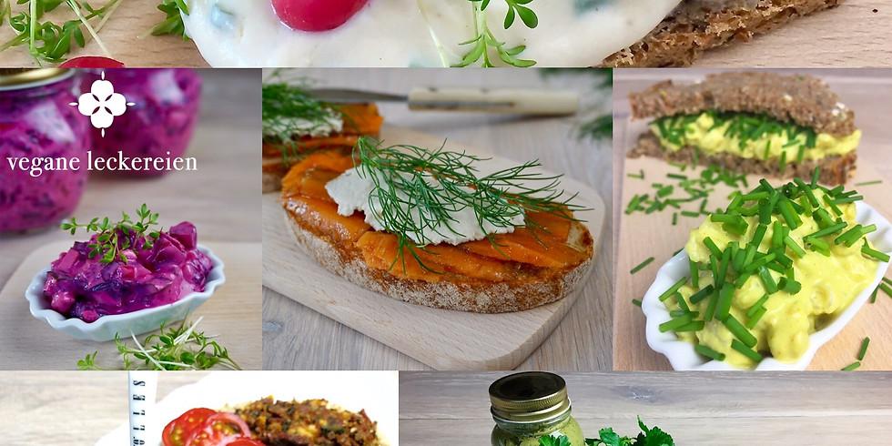 Pflanzliche Brotaufstriche & Brotbacken