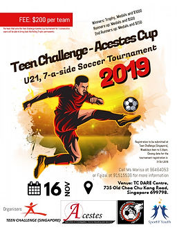 Copy of Soccer Futsal Tournament Flyer P