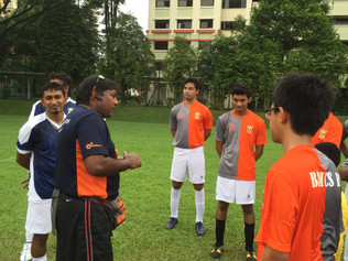 Soccer training @ WRSS