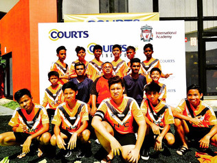 Sportif Bulls (U 16) at Liverpool FC Academy and Courts Tournament