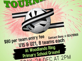 Christmas 5-a-side Soccer Tournament
