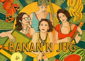 Concert de sortie du 3e album des Banan' N Jug