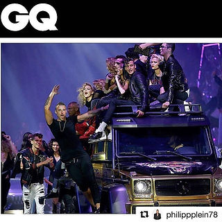 GQ Feature - Milan Fashion Show for Philipp Plein