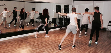 Studio rehearsals