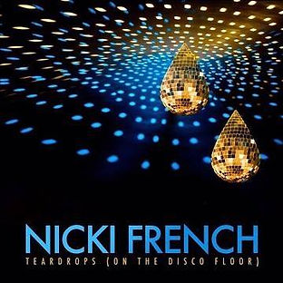 Teardrops (on the disco floor) Single artwork