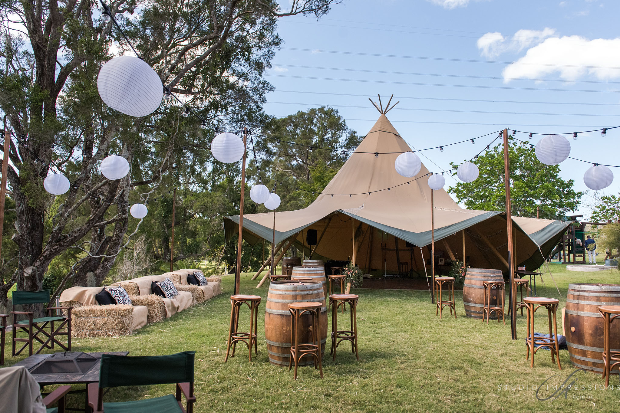 Single Tipi Styling
