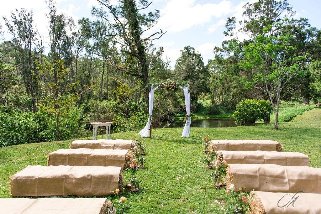 RIVERBANK AISLE CEREMONY SITE 2