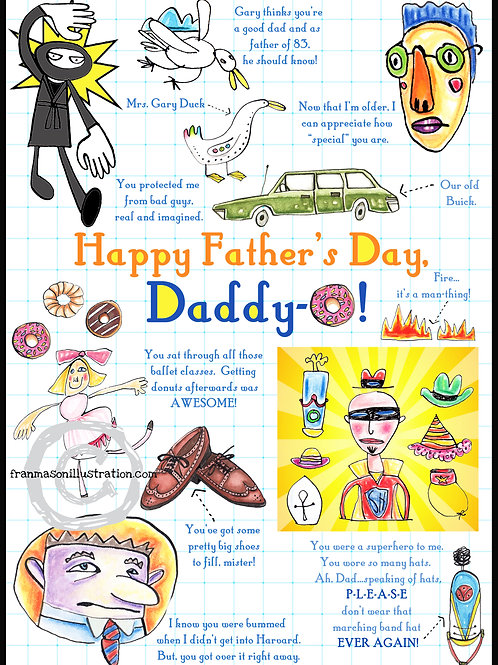 Happy Father's Day, Daddy-O!