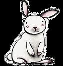 bunny, rabbit, bunny rabbit, cute bunny, lost bunny, white bunny, white rabbit, drawing, painting, watercolor painting, watercolor pencil, hand-drawn bunny, fran mason, fran mason illustration