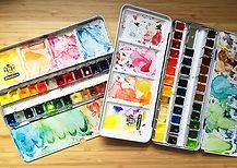 Schmincke watercolors-YUMMERS!
