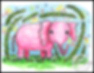 baby elephant-jungle+border+watermark 8.