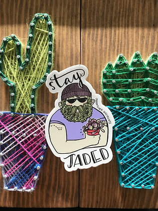 Stay Jaded Sticker