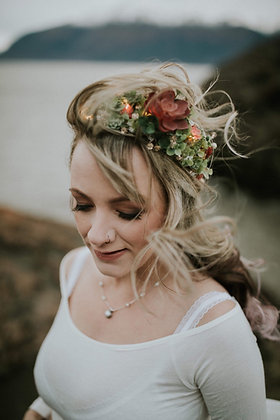 Custom Faux Succulent Crown